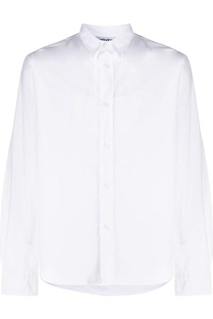 Kenzo Tiger embroidered button-front shirt