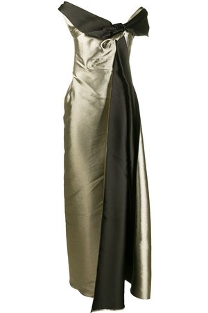A.N.G.E.L.O. Vintage Cult 2000s bow detail gown
