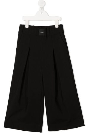 DKNY Pleated wide-leg trousers
