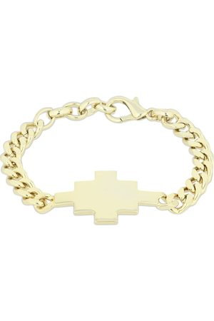 MARCELO BURLON Cross Logo Chain Bracelet