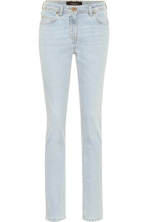 VERSACE Women Slim - High-rise slim-fit jeans