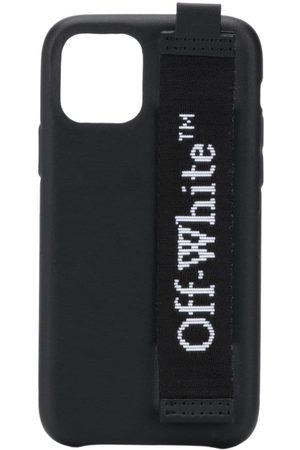 OFF-WHITE Industrial logo-print iPhone 11 Pro case