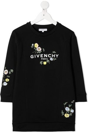 Givenchy Floral embroidery sweater dress
