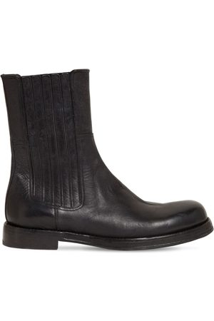 Dolce & Gabbana 30mm Horse Leather Boots