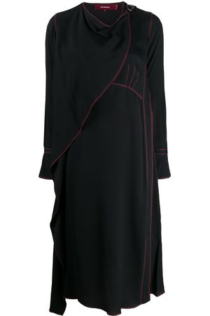 Sies marjan Draped neck dress