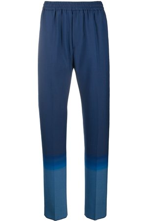 Givenchy Elasticated gradient trousers