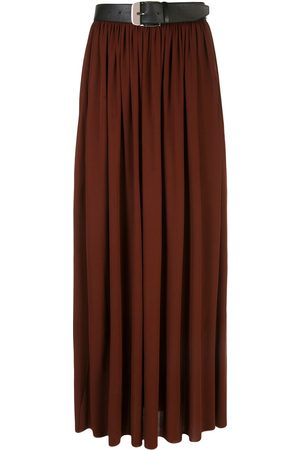 Proenza Schouler Belted pleated skirt