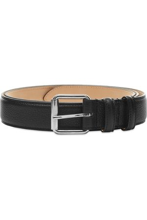A.P.C Paris Grain Leather Belt