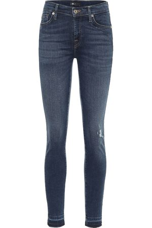 7 for all Mankind The Skinny high-rise jeans