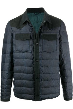 Etro Men Bomber Jackets - Quilted bomber jacket