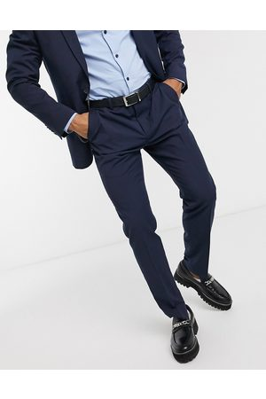 Shelby & Sons Men Slim Pants - Slim suit trousers in