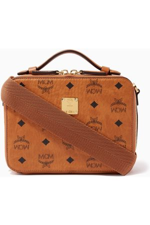 MCM Small Klassik Crossbody in Visetos Coated Canvas