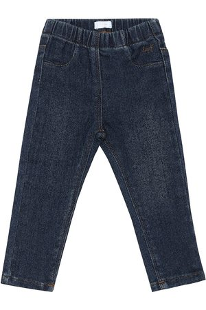 Il gufo Baby stretch-denim jeans