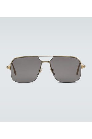 CARTIER EYEWEAR Metal aviator sunglasses