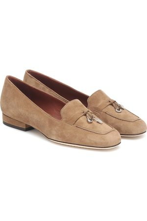 Loro Piana Charms suede ballet flats