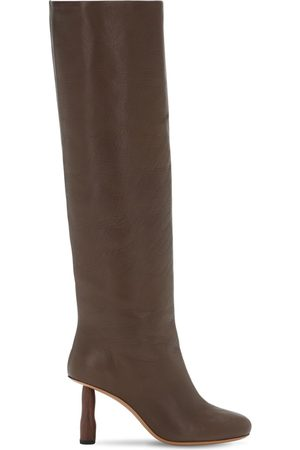 REJINA PYO 80mm Leather Tall Boots