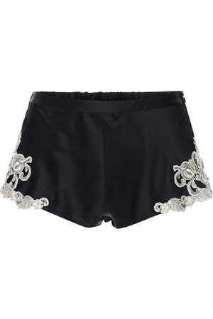 La Perla Women Shorts - Maison Silk & Lace Shorts