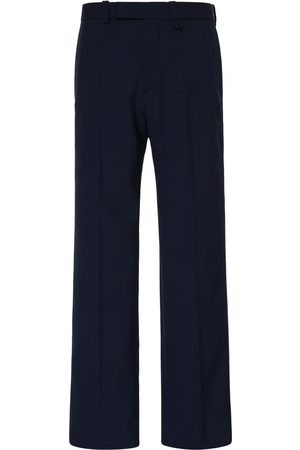OAMC Public Stretch-Wool Straight-Leg Pants