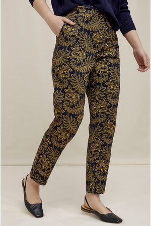 People Tree Women Pants - V & A Rosa Print Trousers