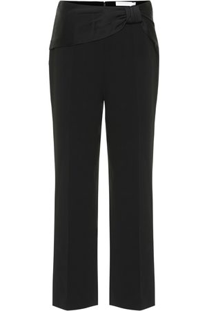JONATHAN SIMKHAI High-rise straight-leg pants