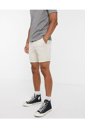 River Island Skinny chino shorts in