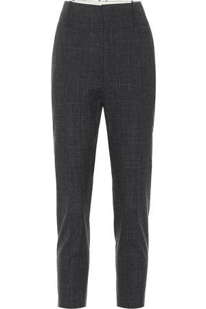Isabel Marant, Étoile Noah high-rise wool-blend pants
