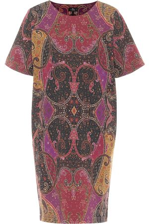 Etro Printed jersey minidress