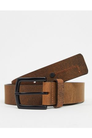 River Island Leather belt in brown