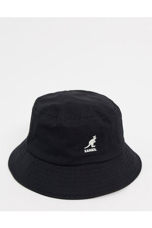 Kangol Bucket hat in with white contrast logo