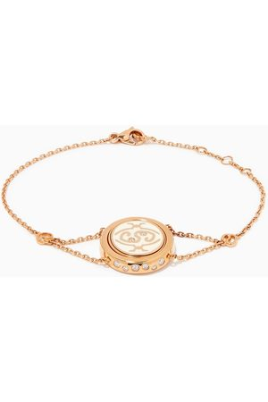 """Intisars Me Oh Me """"Courageous"""" Sparkly Diamond Bracelet in 18kt Rose"""