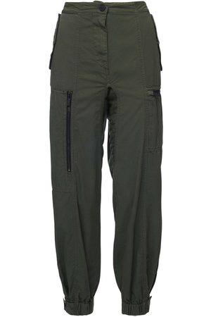 McQ Women Cargo Pants - Genesis Ii Cotton Twill Cargo Pants