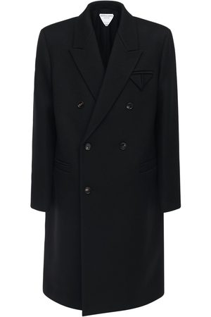 Bottega Veneta Compact Wool Cavalry Twill Coat