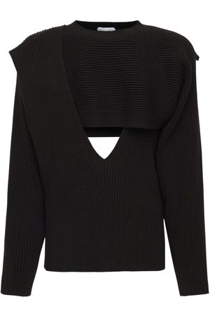 Bottega Veneta Cotton Blend Knit Sweater