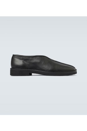 LEMAIRE Chinese leather slippers
