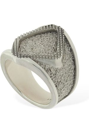 Bottega Veneta Rhombus Thick Ring