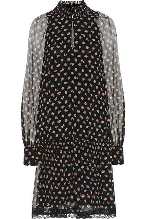 See by Chloé Floral georgette minidress