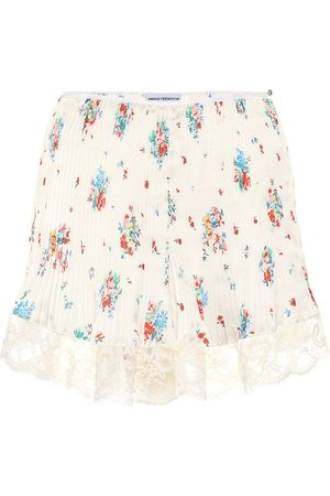 Paco rabanne High-rise floral skirt