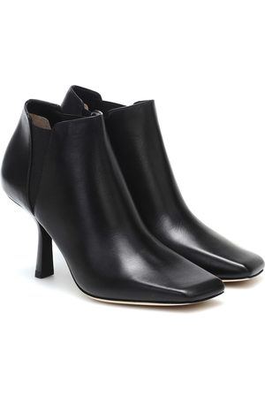 Jimmy Choo Marcelin 85 leather ankle boots