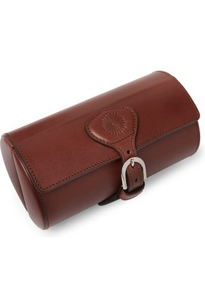 PURDEY Travel Leather Double Watch Roll