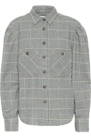 Isabel Marant, Étoile Falco checked cotton-blend shirt