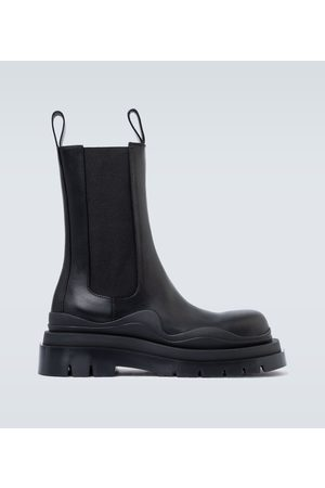 Bottega Veneta BV Tire leather boots