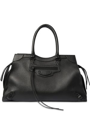 Balenciaga Men Travel Bags - Neo Classic Grained Leather City Bag