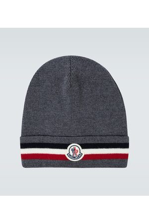 Moncler Wool ribbed beanie