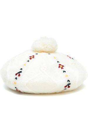 BONPOINT Embroidered beret