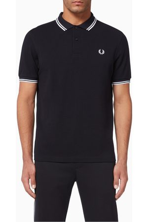 Fred Perry Women Polo Shirts - Twin Tipped Cotton Piqué Polo