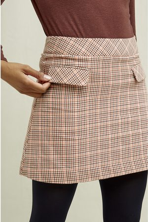 People Tree Rosa Houndstooth Skirt