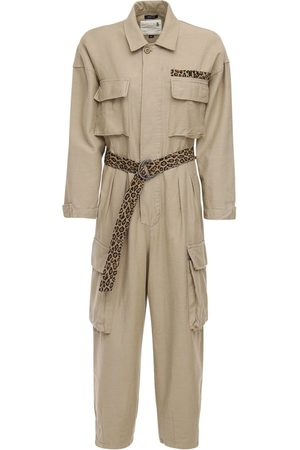 R13 Abu Canvas Jumpsuit