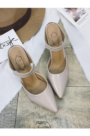 YOINS Pointed Toe High-Heeled Slippers