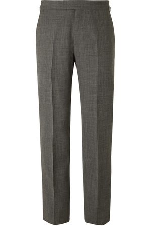 KINGSMAN Men Formal Pants - Archie Reid Slim-Fit Prince of Wales Checked Wool Suit Trousers