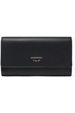 Emporio Armani Women Wallets - Continental Wallet in Deer Printed Faux Leather